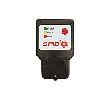 SPIDO HTX (003161) Szárazon fűtés elleni védelmi készülék 230V, 3A-8A, Hőmérséklet -5C - 45C