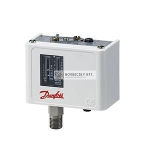 Danfoss 060-113366  KPI35 nyomáskapcsoló gázokra és sűrített levegőre, max. 17 bar, IP30, közeg hőmérséklet: -40 ... +100C, kapcsolási diff.:  0.7 - 4 bar
