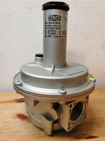 """Madas Gáznyomás szabályzó 1/2"""" 18-40 mbar (094014M)"""