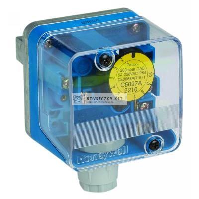 Honeywell C6097A2410 gáz nyomáskapcsoló 100-500mbar pmax=600mbar névl.hiszterézis: 7,0mbar