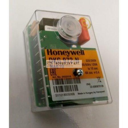 Honeywell (Satronic) DKG 972-N MOD. 10 (0432010U) digitális automatika gázégőkhöz