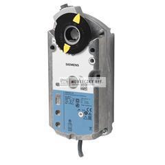Siemens GMA321.1E Zsalumozgató motor 7Nm 90/15 sec. rugós 230V - Nyit/Zár