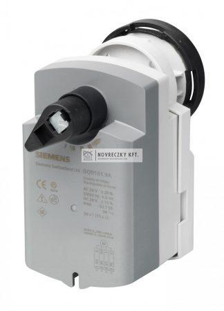 Siemens GQD121.9A Forgatómotor golyóscsaphoz AC/DC24V, 2-pont, 30/15s, rugó visszatérítés