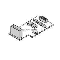 Honeywell HCS80 bővítő modul +3zóna HCE80 és HCC80-hoz