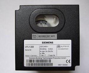 Siemens LFL1.322 Égőautomatika