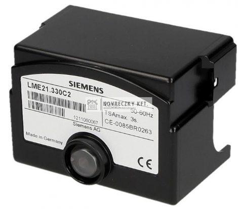 Siemens LME21.330 C2 Égővezérlő kis és közepes teljesítményű gáz vagy gáz/olaj égőkhöz