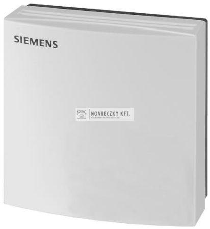 Siemens QFA1000 Helyiségbe szerelhető páratartalom kapcsoló, belső beállítás, kapcsoló kimenet