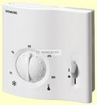 Siemens RAA31 helyiséghőmérséklet-szabályozó ki/be kapcsolóval AC24...250V
