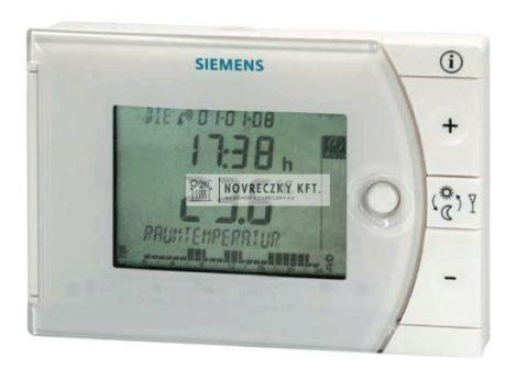 Siemens REV24 öntanuló programozható termosztát,heti időprogram,háttérvilágítással