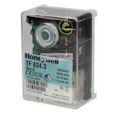 Honeywell (Satronic) TF 834.3 Olaj- és gázégő automatika (02234U)  max 30kg/h, 0...60°C, IP44
