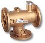 Honeywell TM3410.606 termosztatikus HMV keverő szelep DN65 kar. T=36-53°C