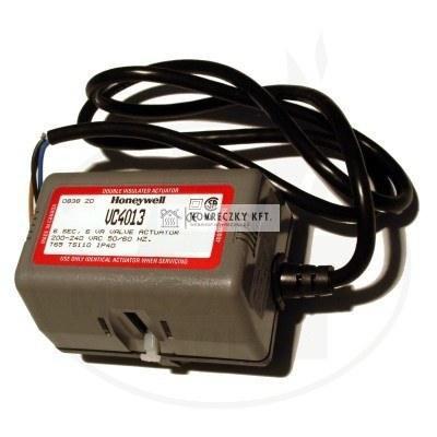 Honeywell VC8010ZZ00/U Nyit/zár meghajtó motor VC sorozatú szelepekhez, MOLEX csatlakozó, vezérlés: nyitó és fix fázissal, 24Vac, futásidő 7s