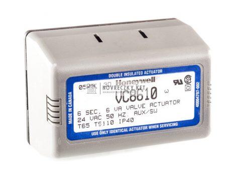 Honeywell VC8610ZZ00/U Nyit/zár meghajtó motor VC sorozatú szelepekhez, MOLEX csatlakozó, segédkapcsolóval, vezérlés: nyitó és fix fázissal, 24Vac, futásidő 7s