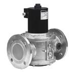 Honeywell VE4065B3005 gázmágnesszelep DN65 NC, gyors nyitású, pmax=200mbar 230 Vac IP54 karimás