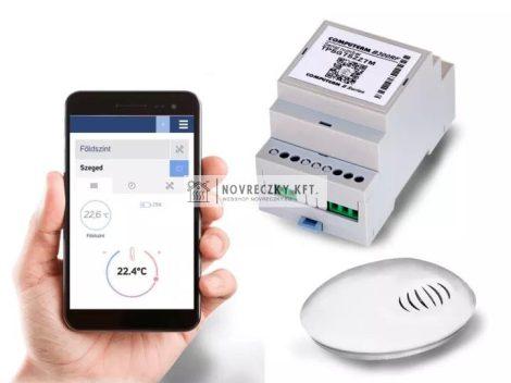 Computherm B300RF Wifi termosztát vezeték nélküli hőérzékelővel