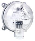 Honeywell DPTE1000 Nyomáskülönbség távadó levegőre, 0..1000/2500Pa,kimenet:0..10V/4-20mA,18-30Vacdc