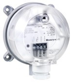Honeywell DPTE100 Nyomáskülönbség távadó levegőre, 0..100/250Pa,kimenet:0..10V/4-20mA,18-30Vacdc