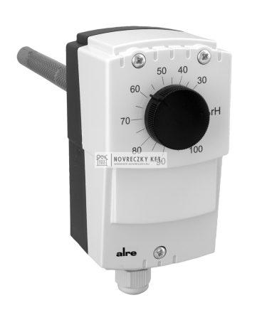 Alre HI-1 légcsatorna hygrosztát , IP65, 30...100 % rel.humidity, benyúlási hossz: 230 mm