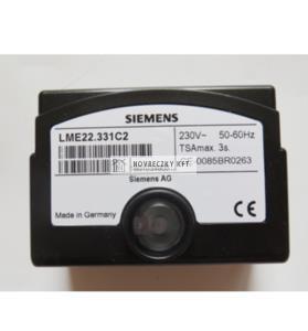 Siemens LME22.331C2 Égővezérlő kis és közepes teljesítményű gáz vagy gáz/olaj égőkhöz