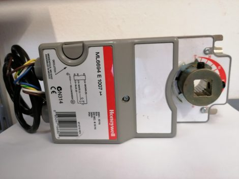 Honeywell ML6694E1007 zsalumozgató 230Vac, 34Nm, 3-pont, segédkapcsolós (új típushoz SW2 is kell)