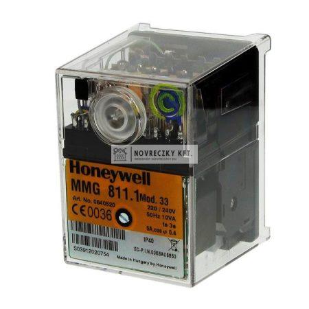 Honeywell (Satronic) MMG 811.1 Mod. 33 (0640520U) Elektro-mechanikus automatika gázégőkhöz