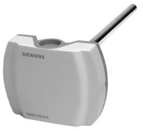 Siemens QAE2120.010 Merülő érzékelő 1m kábellel, 100mm védőhüvellyel együtt, Ni 1000 Ohm