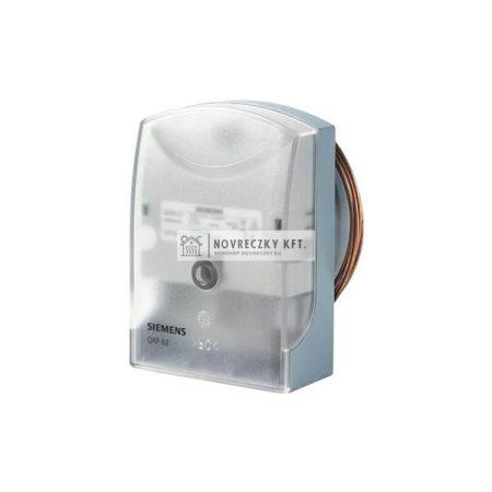 Siemens QAF63.2-J Légoldali fagyvédő 2m kapillárcső 0..10V, -10..17C, IP43