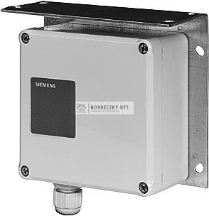 Siemens QBE61.3-DP2 Nyomáskülönbség távadó, 0…2bar, 0…10V, folyadék/gáz közeghez