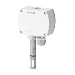 Siemens QFA4160 Hitelesített teremérzékelő, kombinált páratartalom és hőmérséklet érzékelő (2 x DC 0...10 V)