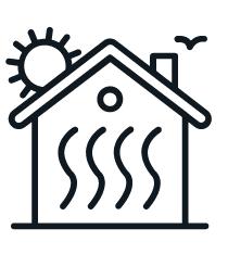 Siemens RAB11.1 Mechanikus fan-coil termosztát 2-csöves rendszerhez,AC250V,hűtés/szellőzés/fűtés kapcsolóval