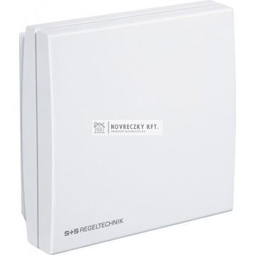 S+S RCO2-W szobai CO2 érzékelő 0...2000/5000 ppm, 0..10V+váltókontakt, 24V AC/DC, 0..50C