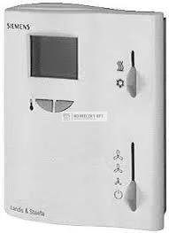 Siemens RDF10 Elektronikus fan-coil termosztát LCD, 2-csöves, automata hűt/Fűt, 3-fokozatú ventilátor