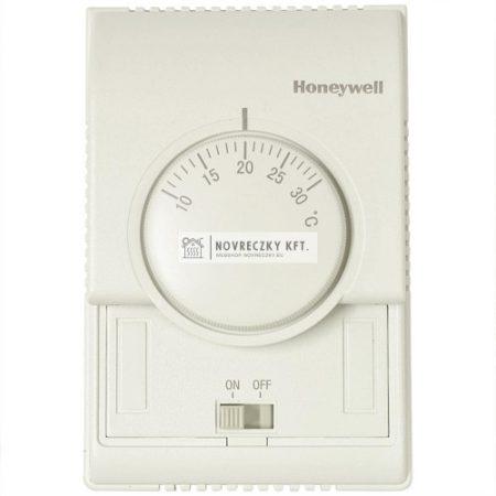 Honeywell T6372B1024 analóg fan-coil termosztát 2 csöves rendszerhez, kézi fűt/hűt, 1 fok vent.