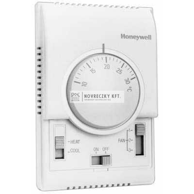 Honeywell T6375B1021 analóg fan-coil termosztát 4 csöves rendszerhez on/off, vent1/2/3, fűt/hűt