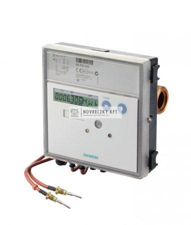 """Siemens UH50-A21-00 ultrahangos hőmennyiségmérő """"Qn=1,5m3/h 110mm beépítési hossz, PN16, NA15 G3/4"""""""" menetes fűtésre"""