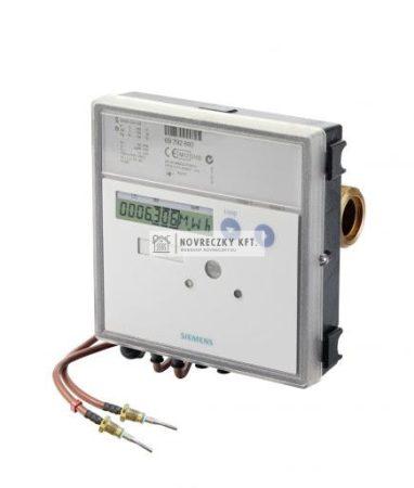 """Siemens UH50-A45-00 Ultranagos hőmennyiségmérő""""Qn=3,5m3/h 260mm beépítési hossz, PN16, NA25 G1 1/4"""""""" menetes csatlakozás"""