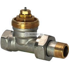"""Siemens VDN215 egyenes termosztatikus szelep 1/2"""" M30*15mm"""