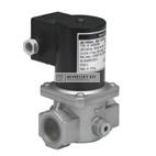 """Honeywell VE4025A1004  gázmágnesszelep 1"""" NC, gyors nyitású 1"""" pmax=200mbar 230 Vac IP54"""
