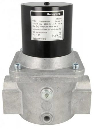 """Honeywell VE4050A1002 gázmágnesszelep 2"""" NC, gyors nyitású 2"""" pmax=200mbar 230 Vac IP54"""