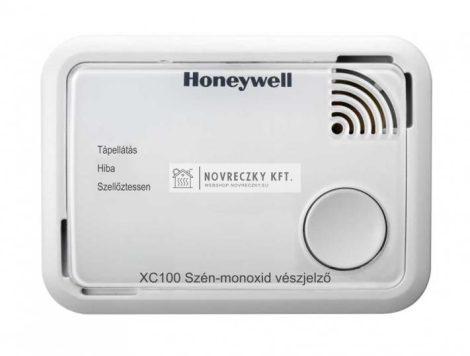 Honeywell XC100-HU-A szén-monoxid vészjelző 10év garancia és jótállás, egyedi, figyelemfelkeltő riasztási üzenet