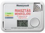 Honeywell XC100D-HU-A szén-monoxid vészjelző, 10év élettartam és jótállás,multifunkciós CO-szint kijelzés