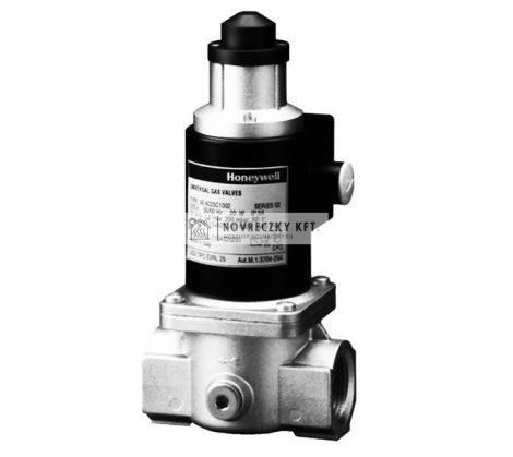 """Honeywell VE4025C1002 korlátozós gázmágnessz. NC, lassú nyitású, 1"""" pmax=200mbar 230 Vac IP54"""