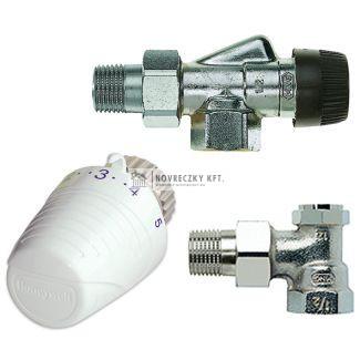 Honeywell  VTL320AA15 axiális termosztatikus radiátorszelep szett